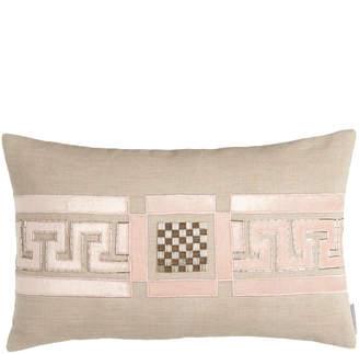 "Horchow Lili Alessandra Mackie 14"" x 22"" Greek Key Pillow"