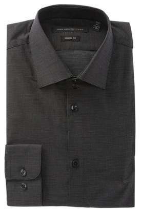 John Varvatos Micro Dot Modern Fit Dress Shirt