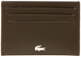 Lacoste Men's FG credit card holder in leather