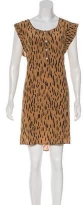 Kelly Wearstler Silk Mini Dress