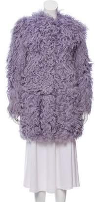 Emilio Pucci Short Shearling Coat