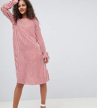 Y.A.S Tall Trey Striped Dress