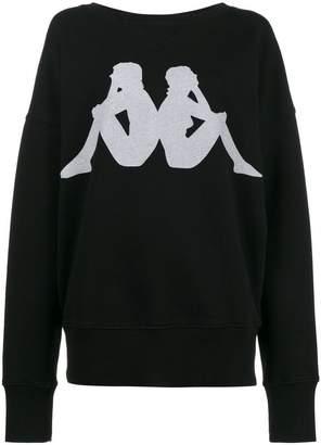 Faith Connexion x Kappa printed sweatshirt