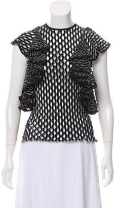 Beaufille Knit Perforated Top
