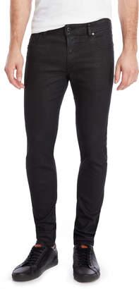 Diesel Black Sleenker Slim Skinny Jeans