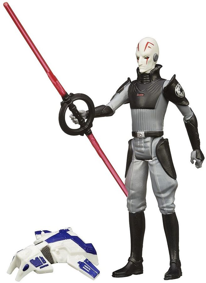 Hasbro Star Wars Rebels 3.75-in. Space Mission The Inquisitor Figure by Hasbro