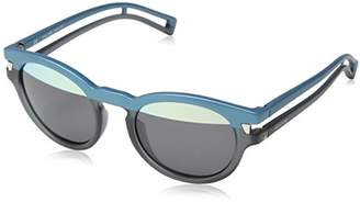Police Sunglasses Women's S1960M Neymar Jr 2 Oval Sunglasses