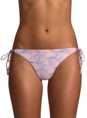 Dolce Vita Tie-Side Printed Bikini Bottom