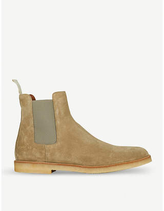 Common Projects Suede Chelsea boots