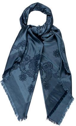Tiffany & Co.Harry Winston Jacquard Cashmere-Silk Scarf