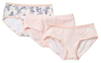 Jessica Simpson Hipster Panties - Pack of 3 (Little Girls & Big Girls)