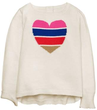 Crazy 8 Heart Sweater