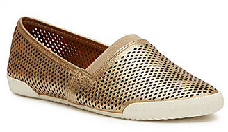 Frye Melanie Perforated Leather Slip-On Sneakers $158 thestylecure.com