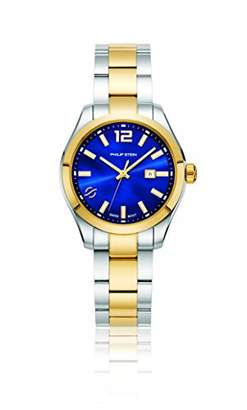 Philip Stein Teslar Women's 'Traveler' Swiss Quartz Two-Tone and Stainless Steel Casual Watch