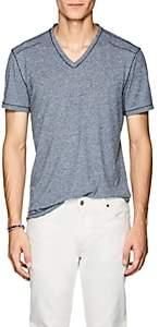 John Varvatos Men's Mélange V-Neck T-Shirt - Md. Blue