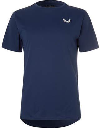 Thomas Laboratories CASTORE Stretch-Jersey And Mesh T-Shirt