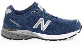 New Balance 990 Made in USA Suede Running Sneakers