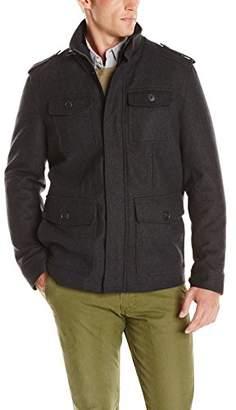 Dockers Wool Four-Pocket Military Jacket