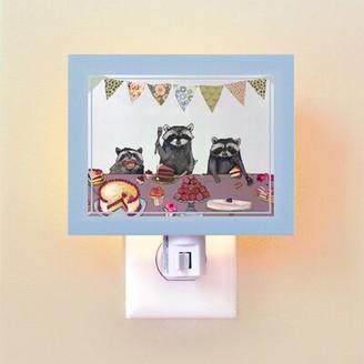 Oopsy Daisy Fine Art For Kids Cupcake Party by Eli Halpin Night Light