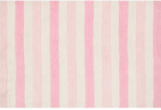 Birch Lane Kids Stripe Out Hand-Woven Pink Area Rug Rug
