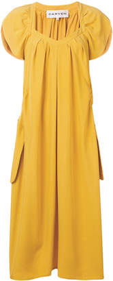 Carven gathered midi dress