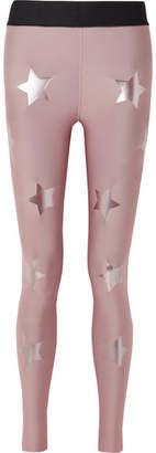 Ultracor Knockout Appliquéd Stretch Leggings - Lilac
