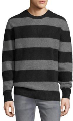 Joe's Jeans Men's Freddy Stripe Sweater w/ Zip Cuffs