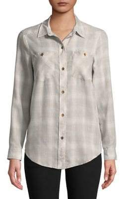 Calvin Klein Jeans Flannel Button-Down Shirt