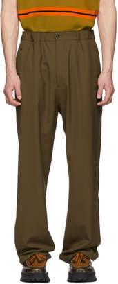 Maison Margiela Tan Poplin Trousers