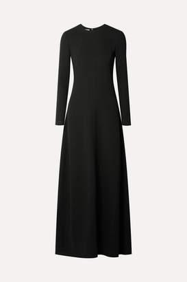 Co Georgette Maxi Dress - Black