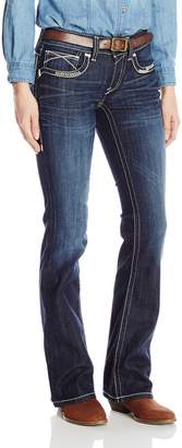 Ariat Women's Women's R.E.a.L Riding Mid Rise Boot Cut Jean