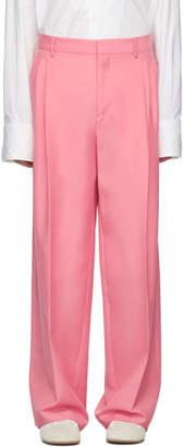 Loewe Pink Pleated Trousers