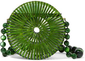 Cult Gaia Luna Acrylic Shoulder Bag - Green