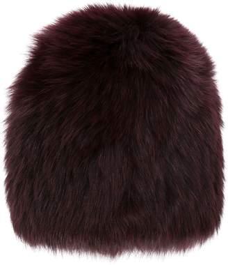 Yves Salomon fox fur beanie
