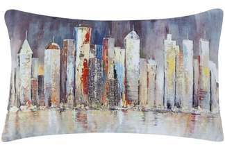 Madeline Skyline Accent Pillow