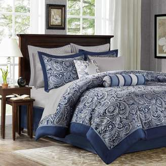 Madison Park Whitman 12-pc. Paisley Bed Set