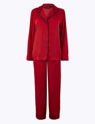 Marks and Spencer Luxurious Satin Pyjama Set
