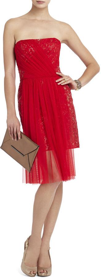 Red Carpet Vienna Strapless Sequin Dress
