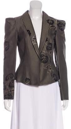 Co Fitted Tuxedo Jacket Black Fitted Tuxedo Jacket