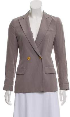 Steven Alan Peak-Lapel Quarter Sleeve Blazer