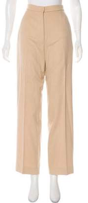 Max Mara High-Rise Camel Pants Tan High-Rise Camel Pants