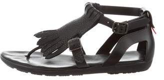 Hunter Kiltie Rubber Sandals