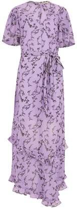 Keepsake Daybreak Lilac Chiffon Maxi Dress