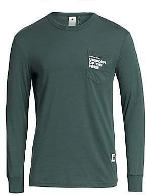 G Star Men's Graphic Long Sleeve Pocket T-Shirt