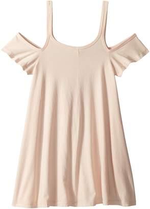 Maddie by Maddie Ziegler Knit Strappy Dress with Ruffle Sleeve Girl's Dress