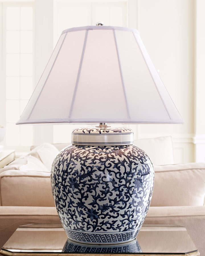 Ralph Lauren Home Mandarin Floral Table Lamp