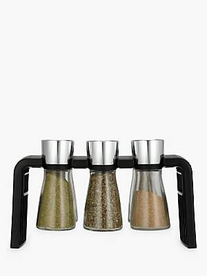 Cole & Mason Shaw 6 Jar Filled Spice Rack