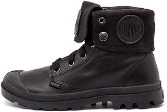 Palladium Baggy leather w Black Boots Womens Shoes Casual Ankle Boots