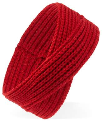 Forever 21 Ribbed Cross-Front Headband