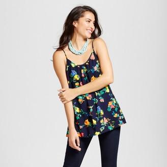 Merona Women's Printed Shirred Cami $17.99 thestylecure.com